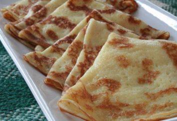 Comment faire cuire des crêpes sur levure sèche? recette