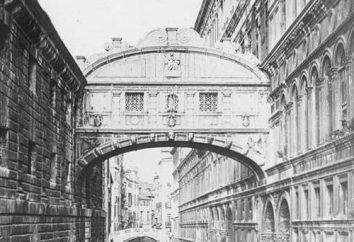 Pont des Soupirs: où, des légendes, des faits intéressants