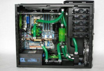 Wody chłodzącej dla PC: jak zainstalować samodzielnie. Elementy do wody chłodzącej