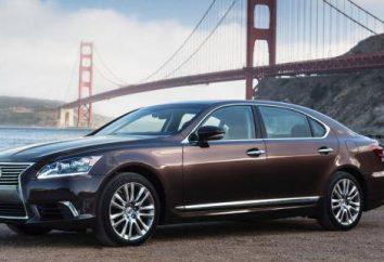 Coche Lexus LS 600h: una visión general, las especificaciones y las revisiones