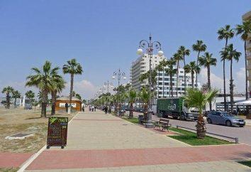 Per tutti i futuri visitatori della città di punti di riferimento Larnaca a guardare fuori per