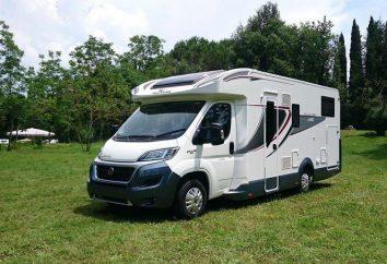 Camper – motorhome trailer. Domek na kółkach