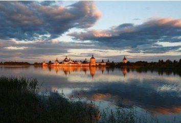 White Lake, regionie Wołogdy. rosyjski północ