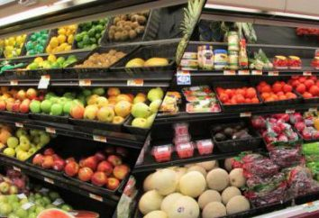 Komercyjne jedzenie sąsiedztwo. Zasady dzielnicy handlowej produktów w gastronomii oraz w sklepie