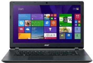 Portátil Acer Aspire E15: cuenta con controlador