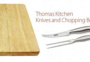 couteaux Thomas. Avis sur les couteaux de la marque Thomas