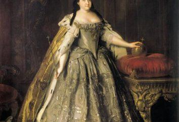 Anna Ivanovna: Durante el reinado de la historia y méritos a Rusia