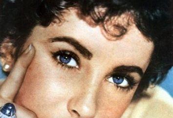la couleur des yeux ahurissantes Elizabet Teylor – une erreur ou d'un don de la nature?