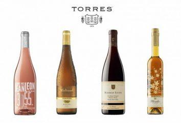 """vinho """"Torres"""" (Torres). vinhos espanhóis: o nome, revisões"""