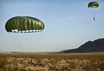 Il numero di linee in paracadute paracadutista?