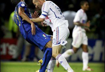 Materazzi dijo que Zidane? Debido a algunas palabras Zinedine Zidane golpeó Marko Materatstsi en las finales de la Copa Mundial de 2006?