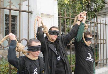 pena de morte na Bielorrússia, em fatos e números