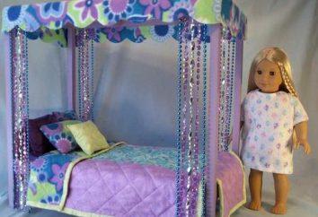 Kinderbetten für Puppen: sein Meisters Hände Spielzeug selbst