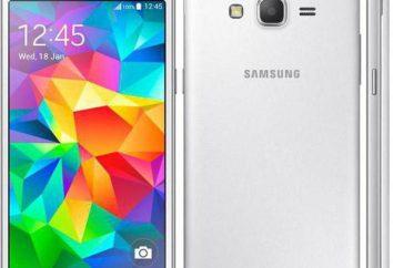 Smartphone Samsung Galaxy Grande Prime SM-G530H: comentários, descrições e especificações