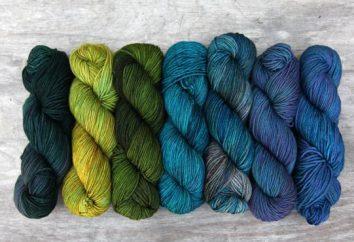 fil à tricoter (de coupe de fil). Types et modèles