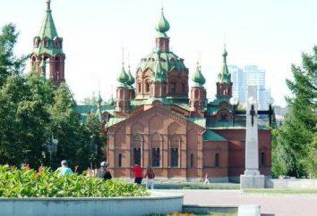 Alexander Nevsky Iglesia (Chelyabinsk): historia y descripción