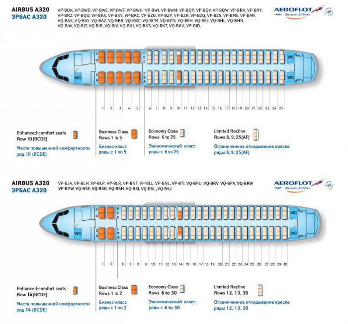 Airbus a319 lo schema della cabina ei posti migliori for Migliori planimetrie della cabina di log