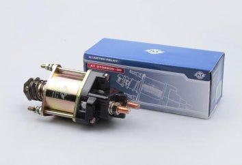 VAZ-2114, przekaźnik rozrusznika: urządzenie, obwód i zasada działania
