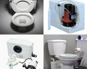 Installazione pompa per acque luride con trituratore