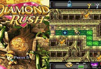 Diamond Rush: Lösungsweg
