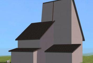 El ángulo de inclinación de los techos puede salvar el edificio de la intemperie o destruir su