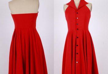 Que se combina con ropa de color rojo? De lo que debe llevar vestido rojo