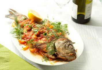 Il pesce sulla nostra tavola: come cuocere in forno per le carpe