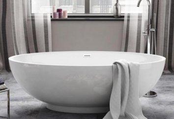 okrągłe kąpiel dla dużej łazienki