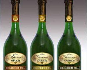 Wine Tsimlyanskoe: Descrição, preços e opiniões dos clientes. História fábrica Tsymlyansk de vinhos espumantes