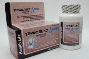 """Medicamento """"Teraflex Avançado"""". Instruções de uso"""