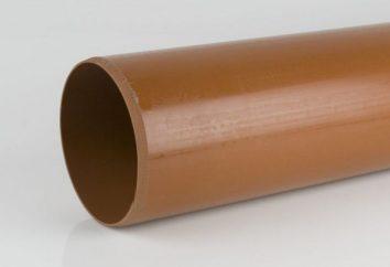 PVC Kanalrohr von 110 mm für die einzelnen Systeme Vorrichtung