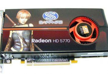 ATI Radeon HD 5770 karta graficzna: specyfikacje, zdjęcia i opinie