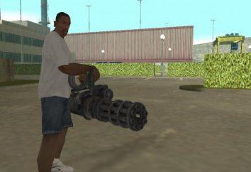 """Dove trovare un minigun in """"GTA: San Andreas"""" e come ottenerlo con un imbroglio"""