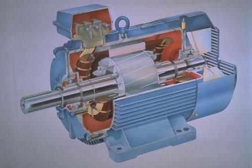 Anschließen eines Drei-Phasen-Motor
