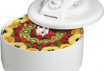 Sèche-linge infrarouge pour les légumes et les fruits: des critiques et des prix