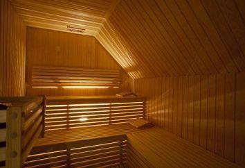 Najlepszym sauna Żulebino. Adres i opis saun Żulebino, ich sposób działania
