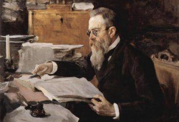 Compositor Rimsky-Korsakov: lista de obras. Rimsky-Korsakov, Nikolai Andreyevich: óperas, obras sinfônicas, romances
