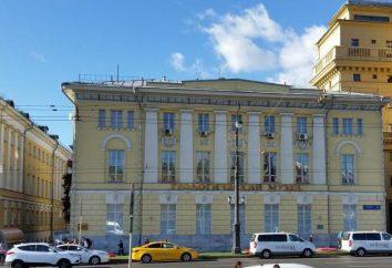 Vernadsky Państwowe Muzeum Geologiczne: Historia. Muzeum Geologii im. Vernadsky: adres, zdjęcia