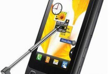 Telefon komórkowy LG KP500: charakterystyka, cechy i recenzje