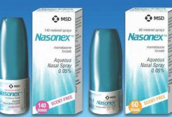 Dans la rhinite allergique et végétations médicament « de Nasonex » pour les enfants (avis d'experts)