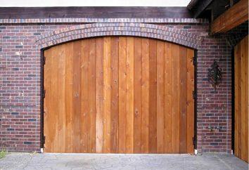 Bramy garazowe rękami. Brama Produkcja: rysunki materiały