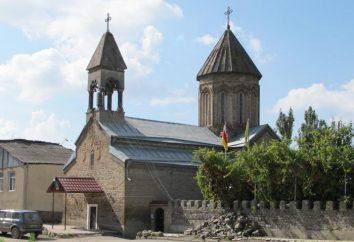 La capitale de l'Ossétie du Sud. Description et caractéristiques