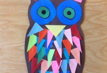 Crafts: Vögel mit ihren Händen. Kinder-Handwerk