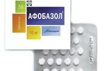 "Agent apaisant ""Afobazol"": examens des médecins, indications et contre-indications"