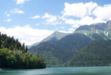 Das Dorf Kamala, Abchasien