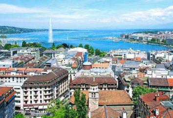 La città di Ginevra, Svizzera – attrazioni, caratteristiche e clima