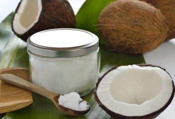 Olej kokosowy na jedzenie. Naturalny olej jadalny