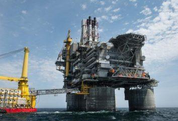 """""""Sakhalin-1"""". progetto di petrolio e gas su Sakhalin"""
