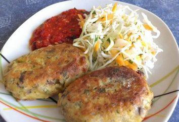 hamburguesas de setas: una receta con trigo sarraceno