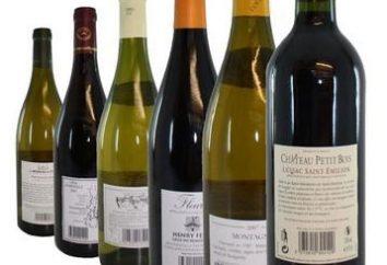 Francuskie wina: nazwa i opis najlepszych napojów